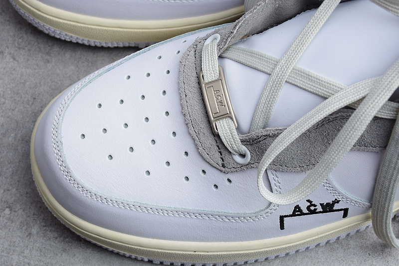 A-COLD-WALL* x Nike Air Force 1 AF1 ACW联名 白灰色 图片2