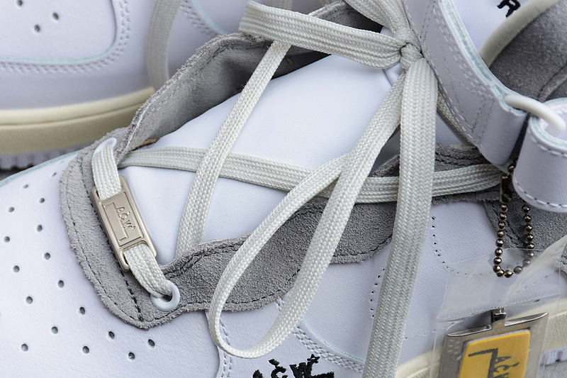 A-COLD-WALL* x Nike Air Force 1 AF1 ACW联名 白灰色 图片4
