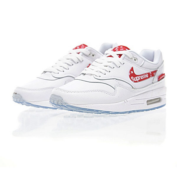 Nike Supreme x Louis Vuitton x Nike Air Max 1 Custom 白红