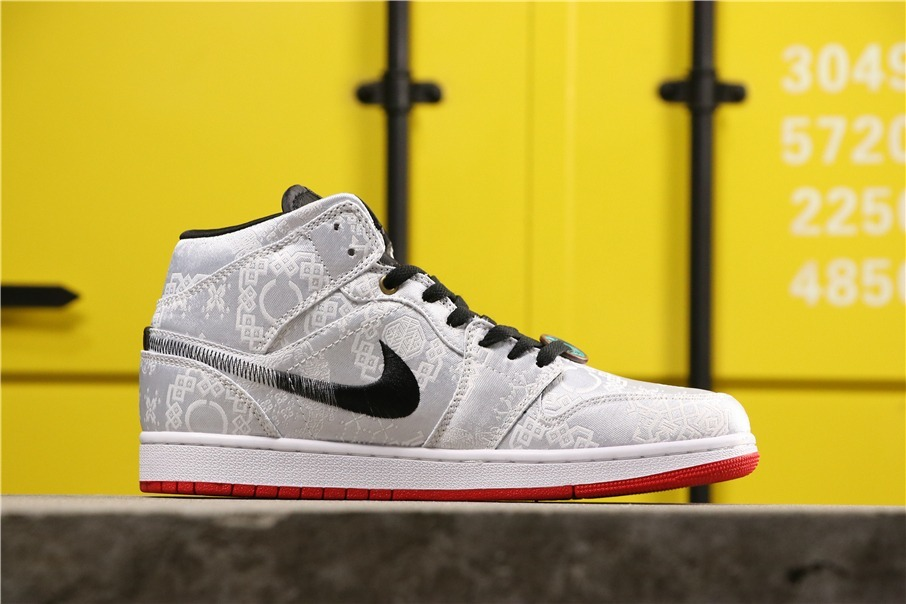 "CLOT x Air Jordan 1 Mid ""Fearless""air aj1"