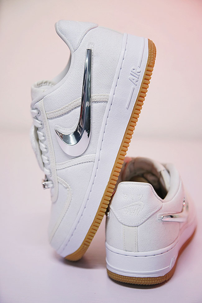 Travis Scott x Nike Air Force 1 AF 100周年经