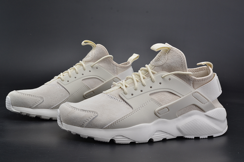 NIKEID AIR HUARACHE RUN 奶白 图片4