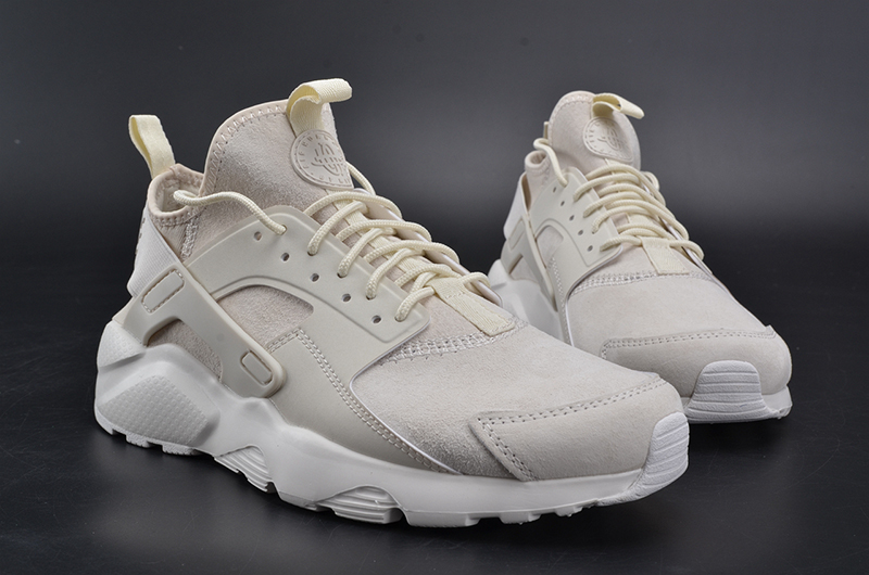 NIKEID AIR HUARACHE RUN 奶白 图片8