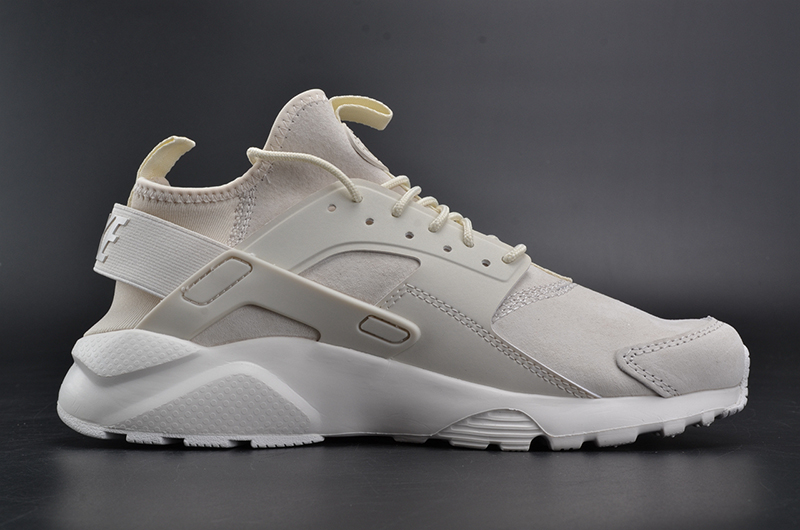 NIKEID AIR HUARACHE RUN 奶白 图片7