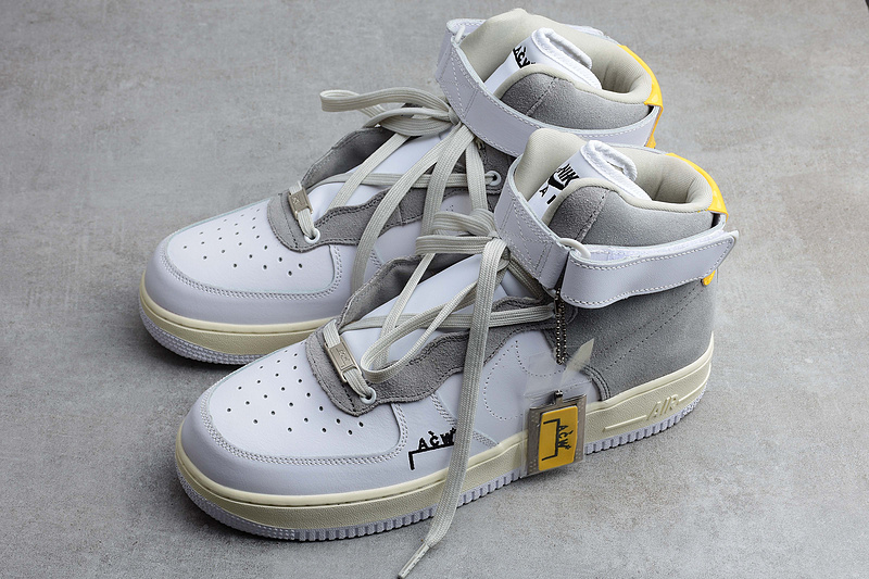 A-COLD-WALL* x Nike Air Force 1 AF1 ACW联名 白灰色