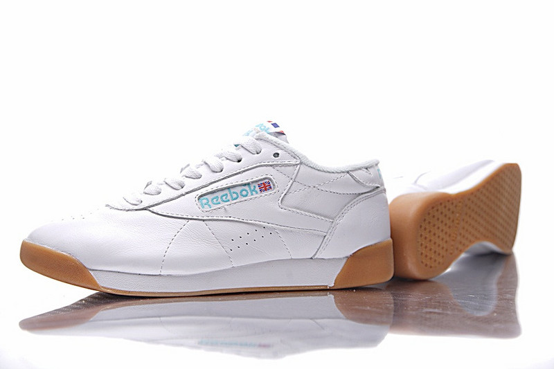 锐步 Reebok Freestyle LO OLD 经典女子百搭慢跑鞋  白黄