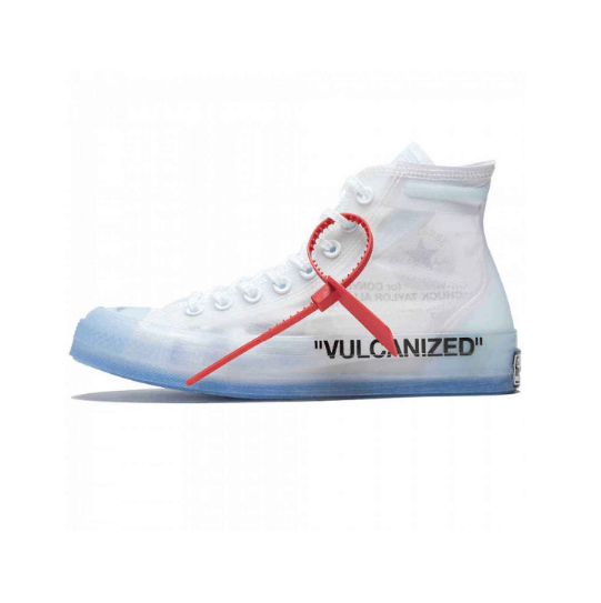 OFF WHITE x Converse Chuck Taylor All Star 「GHOSTING(透视)」