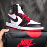 纯原版本 Nike Air Jordan 1 RETRO HIGH OG AJ1 新黑红描边